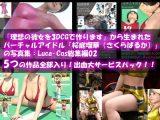 『理想の彼女を3DCGで作ります』から生まれたバーチャルアイドル「桜庭瑠華(さくらばるか)」の写真集:Luca-Cos総集編(ルカコスソウシュウヘン)5つの作品全部入り!