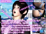 【△100】彼氏に連れてきて貰ったあるアミューズメントパーク。ここの目玉アトラクションは、『鏡の間』なんとここは上下左右がピカピカの鏡になっており、天井のエフェクトに見とれている女の子のスカートの中を真下の鏡から覗き放題という裏の仕様があったのだ!(PV:青いチェック柄パンティ編)
