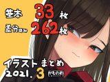 基本33枚!差分262枚!!かものめイラストまとめ2021.3